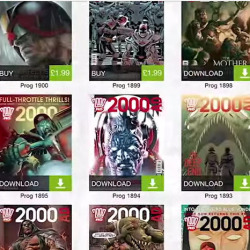 2000 AD rolls out Android app!