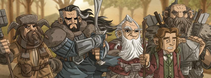 Tolkien+Facebook+Cover+by+Otis+Frampton+2