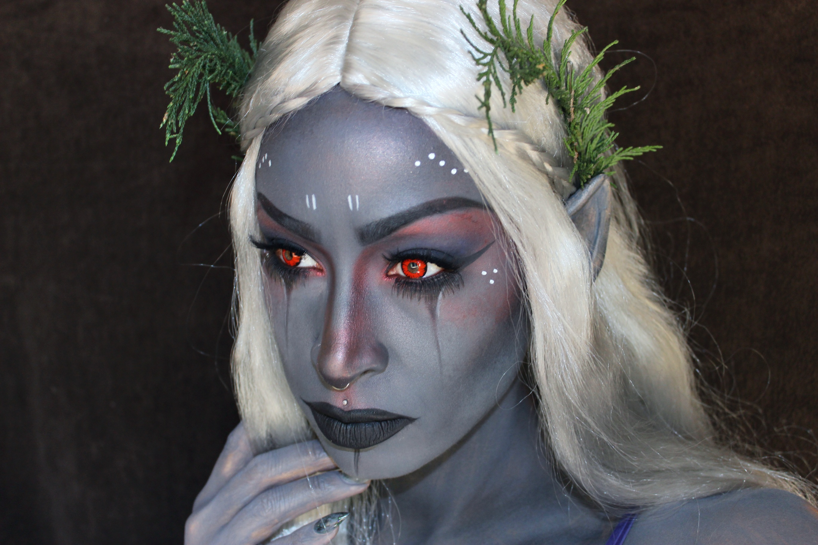 dark-elf-cosplay  sc 1 st  Geek Native & Dark Elf cosplay