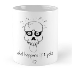 Roleplaying famous last words immortalised on geeky mugs