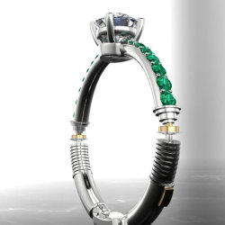 Might you get a lightsaber engagement ring?