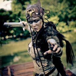 Hellblade cosplay – Senua by Lady Lemon