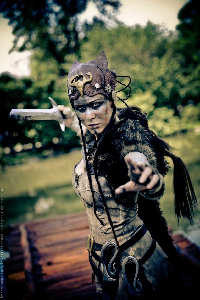 Hellblade cosplay 3