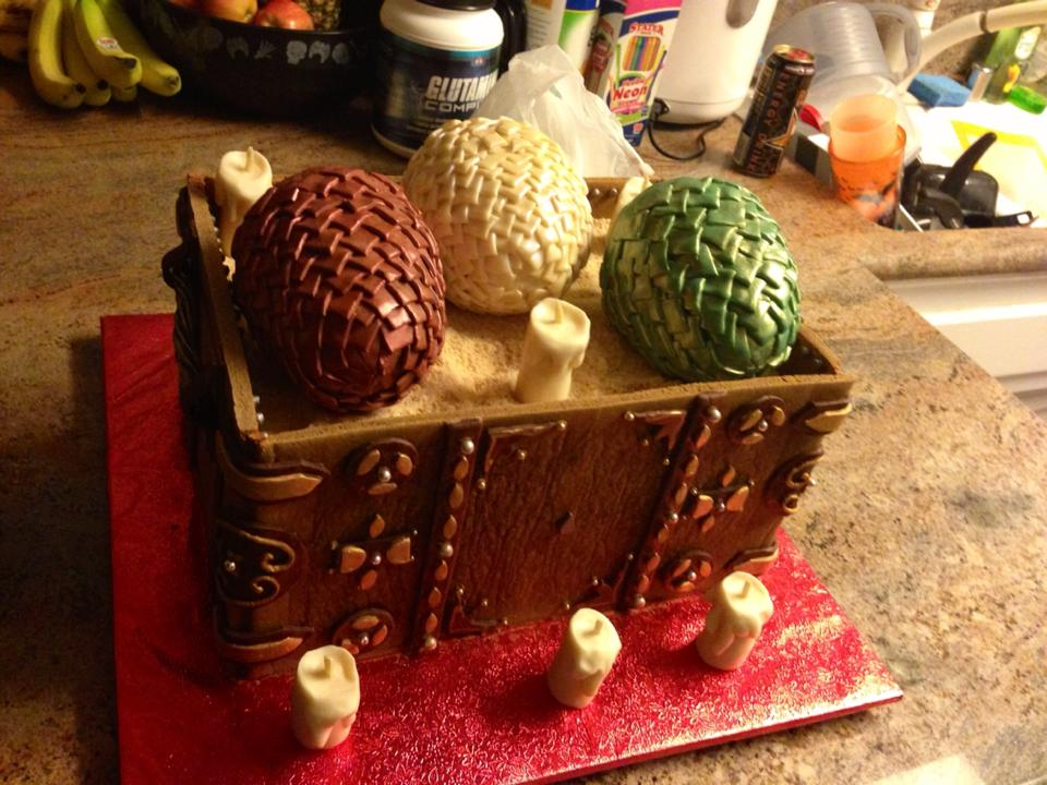 dragon egg cake