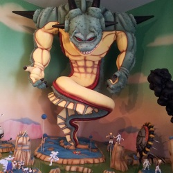 Stunning Dragon Ball Z custom models and diorama