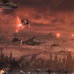 Star Wars battles Star Trek