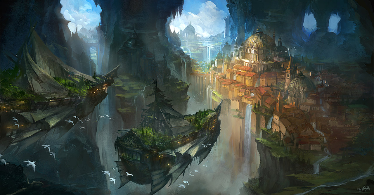 Wonderful Examples Of Environment Design Concept Art From