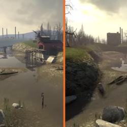 Updating Half-Life 2 with modern graphics