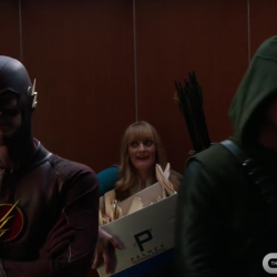 What if the Green Arrow and Flash ran a fight club?