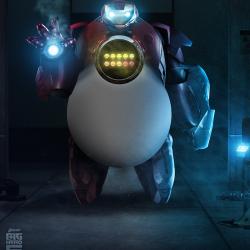 IronBay – Baymax meets Iron Man
