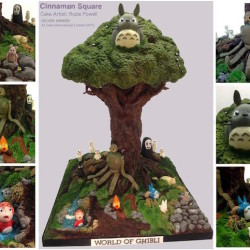 The World of Ghibli… as a cake!