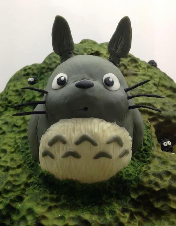 Studio Ghibli cake 2