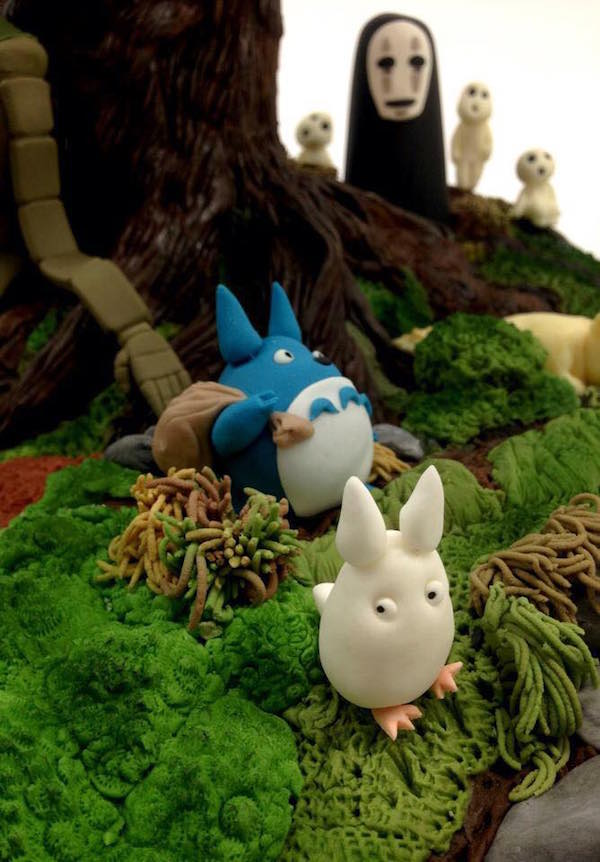 Studio Ghibli cake 5
