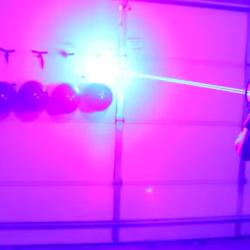 Crazy home invention: 40W laser shotgun