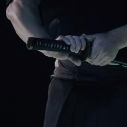 Iaijutsu sword master versus MOTOMAN-MH24 industrial robot