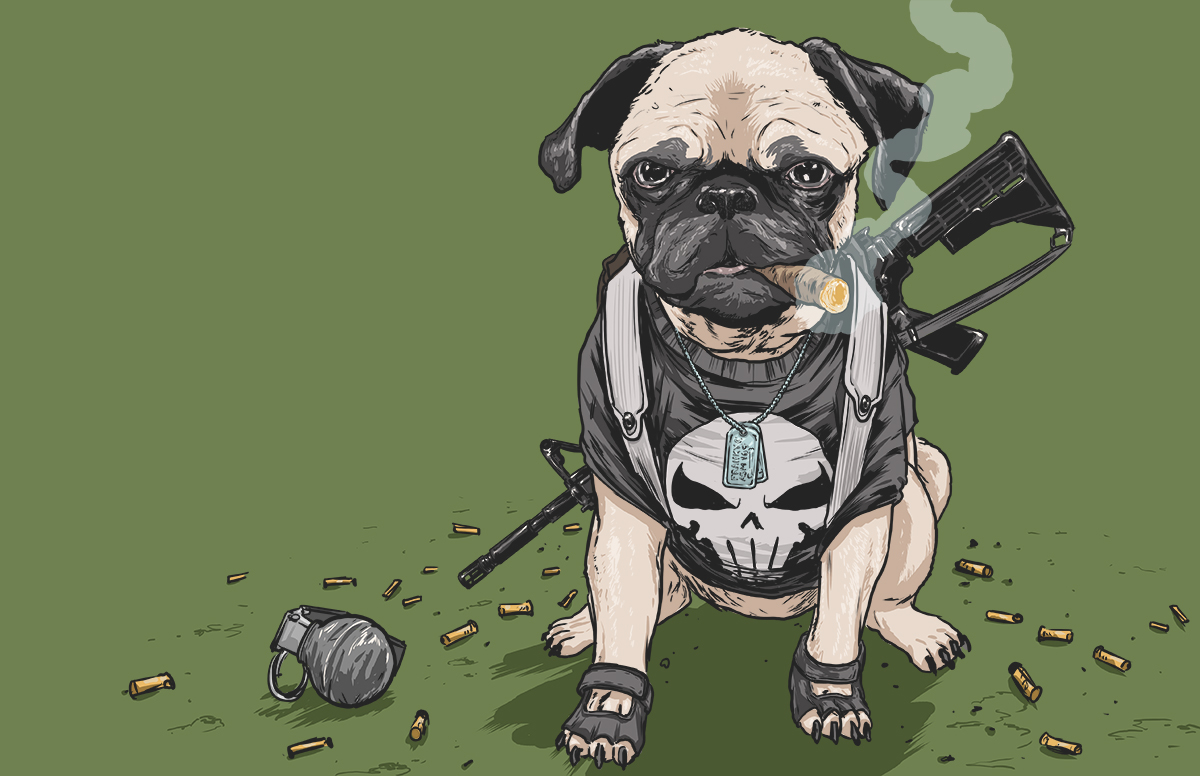 Dogs of the Marvel Universe 1