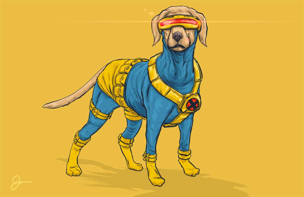 Dogs of the Marvel Universe 14