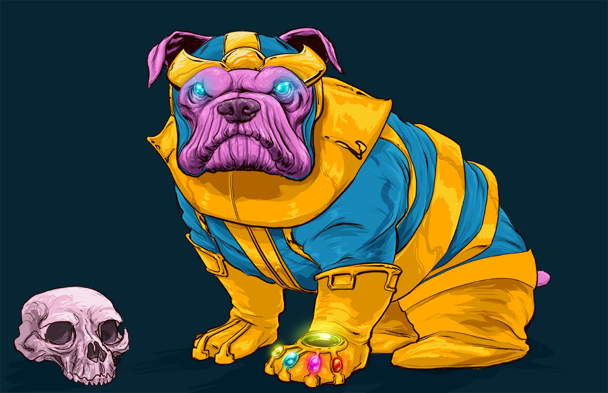 Dogs of the Marvel Universe 15