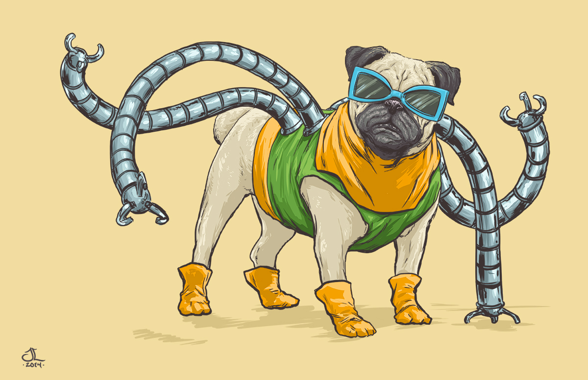 Dogs of the Marvel Universe 4