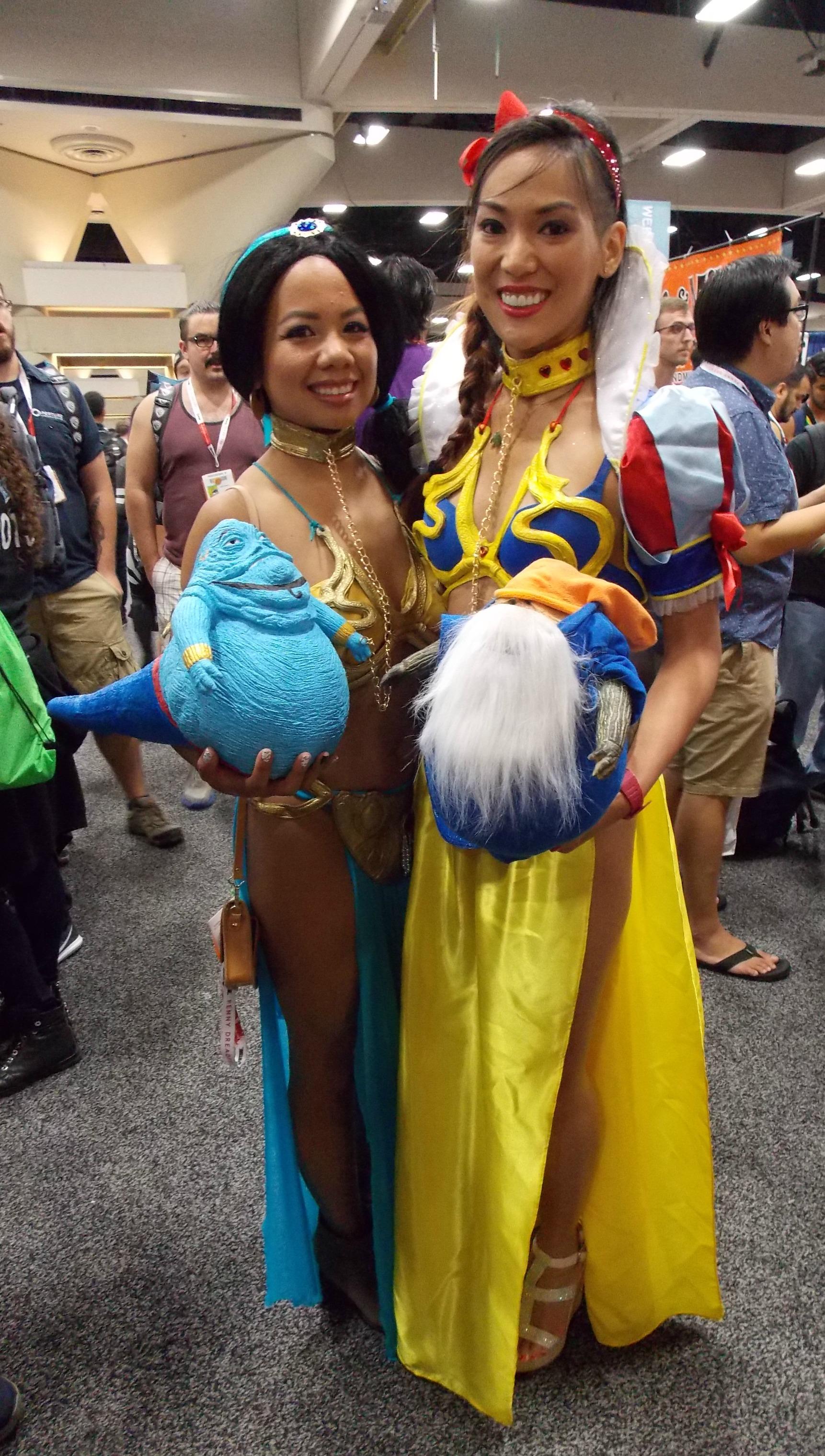 Slave Disney Princesses