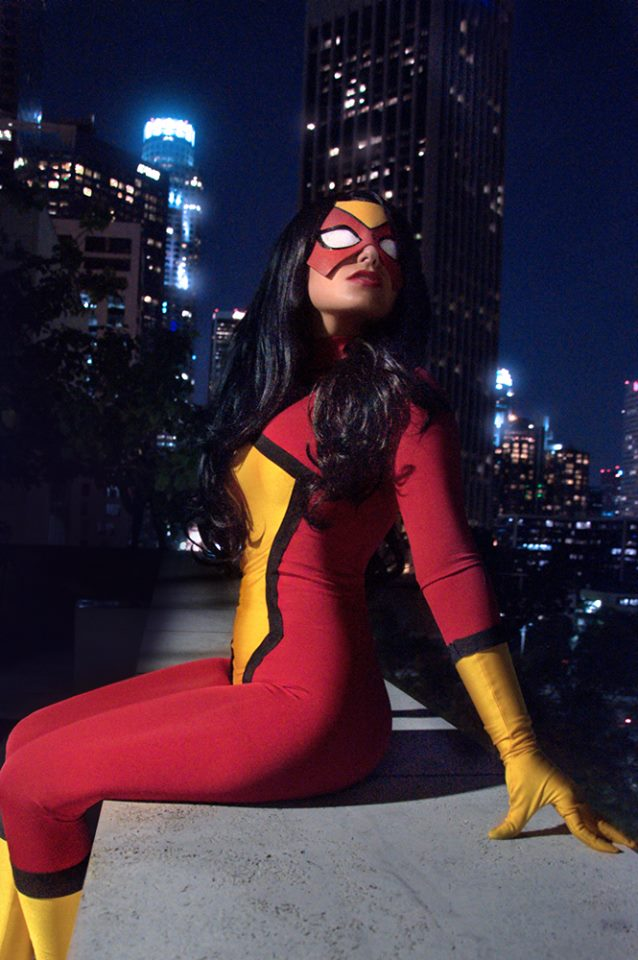 Spider-woman cosplay