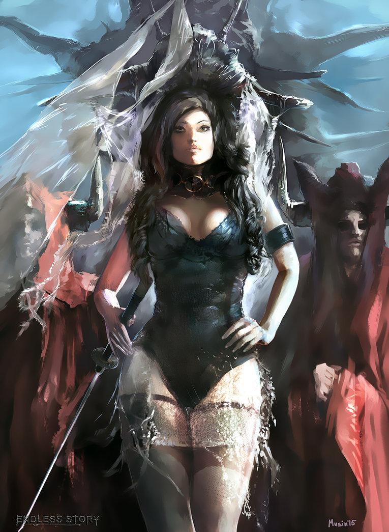 Female Warrior Sci Fi Fantasy Art Images