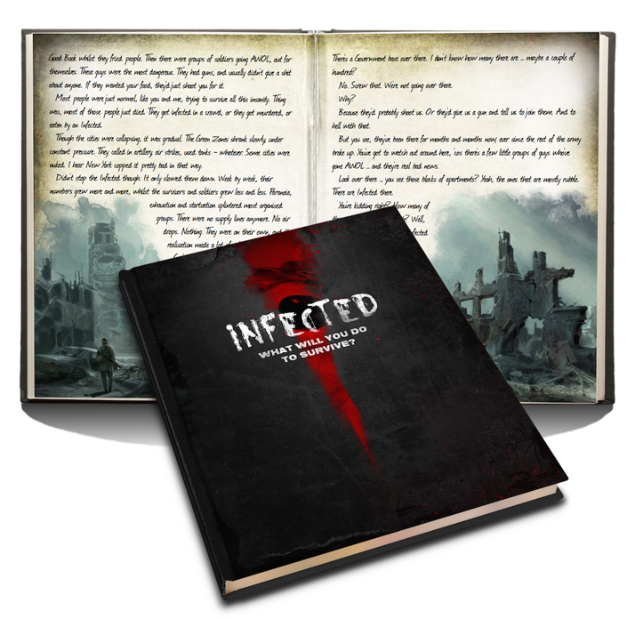 Rebuild or loot? Infected Zombie RPG