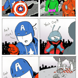 What if Ant-Man was an Avenger for the Battle of New York?