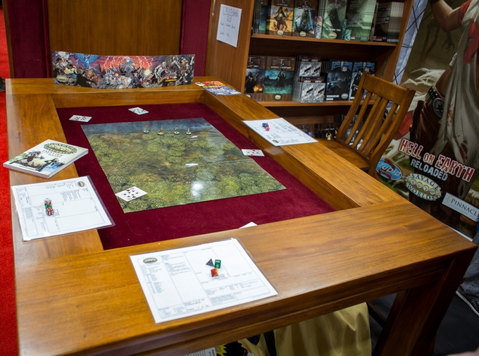 how to build a tabletop gaming table