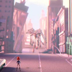 Short film: Giant Robots from Outer Space