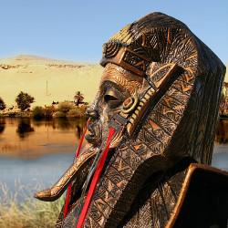 12 Masks of Halloween: #11 Egyptian God