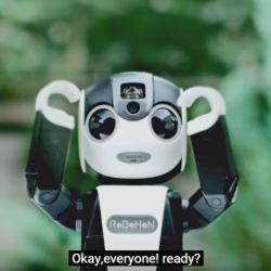 Sharp's new phone is a little robot