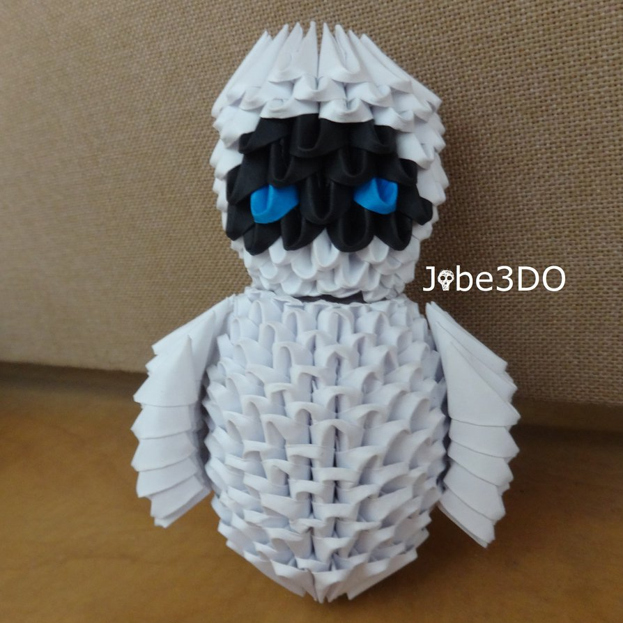 3D Origami - Eve From Wall-E
