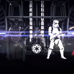 That time Darth Vader started a guitar band