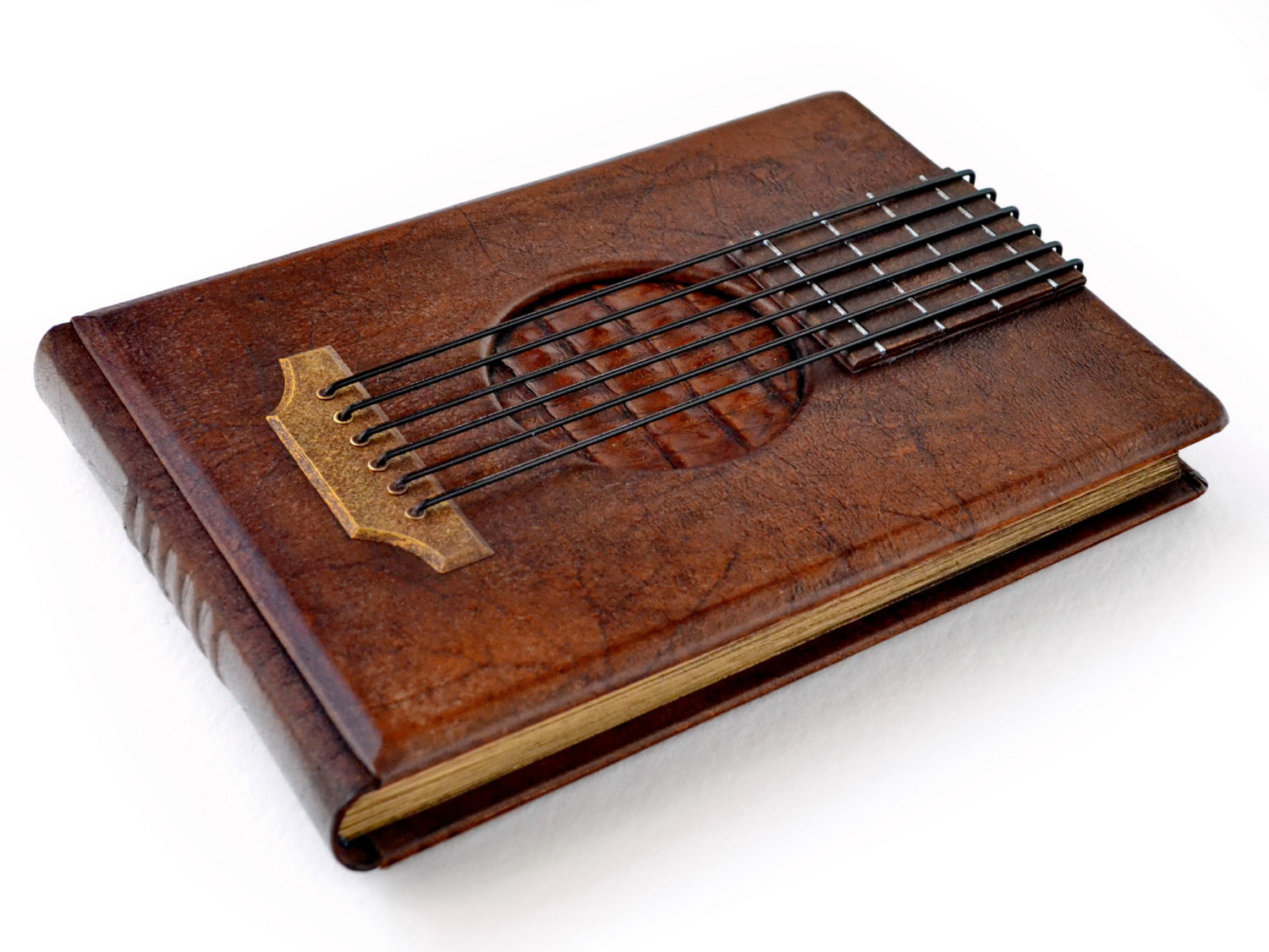 Bard leather journal