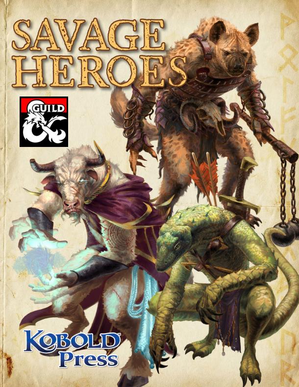 DMs Guild - Savage Heroes