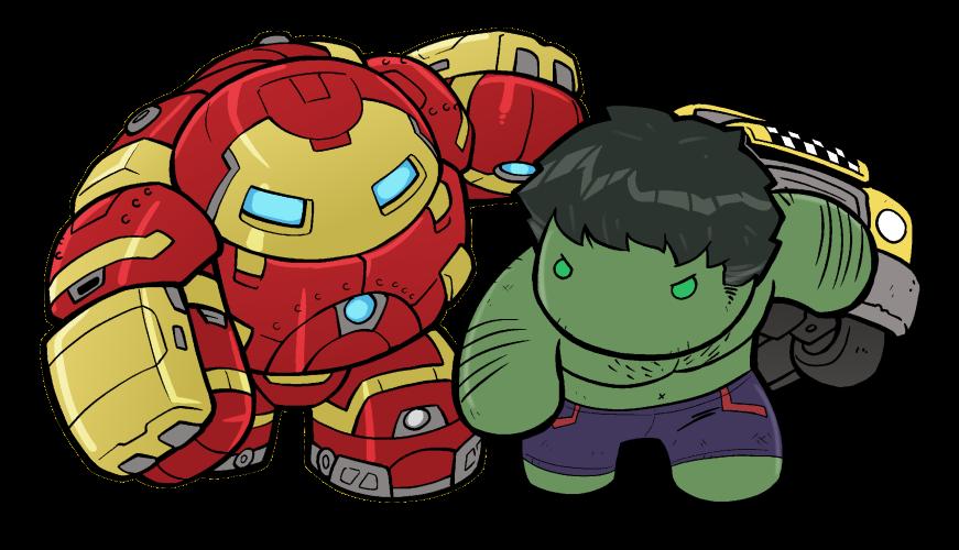 Lil Hulkbuster v Hulk