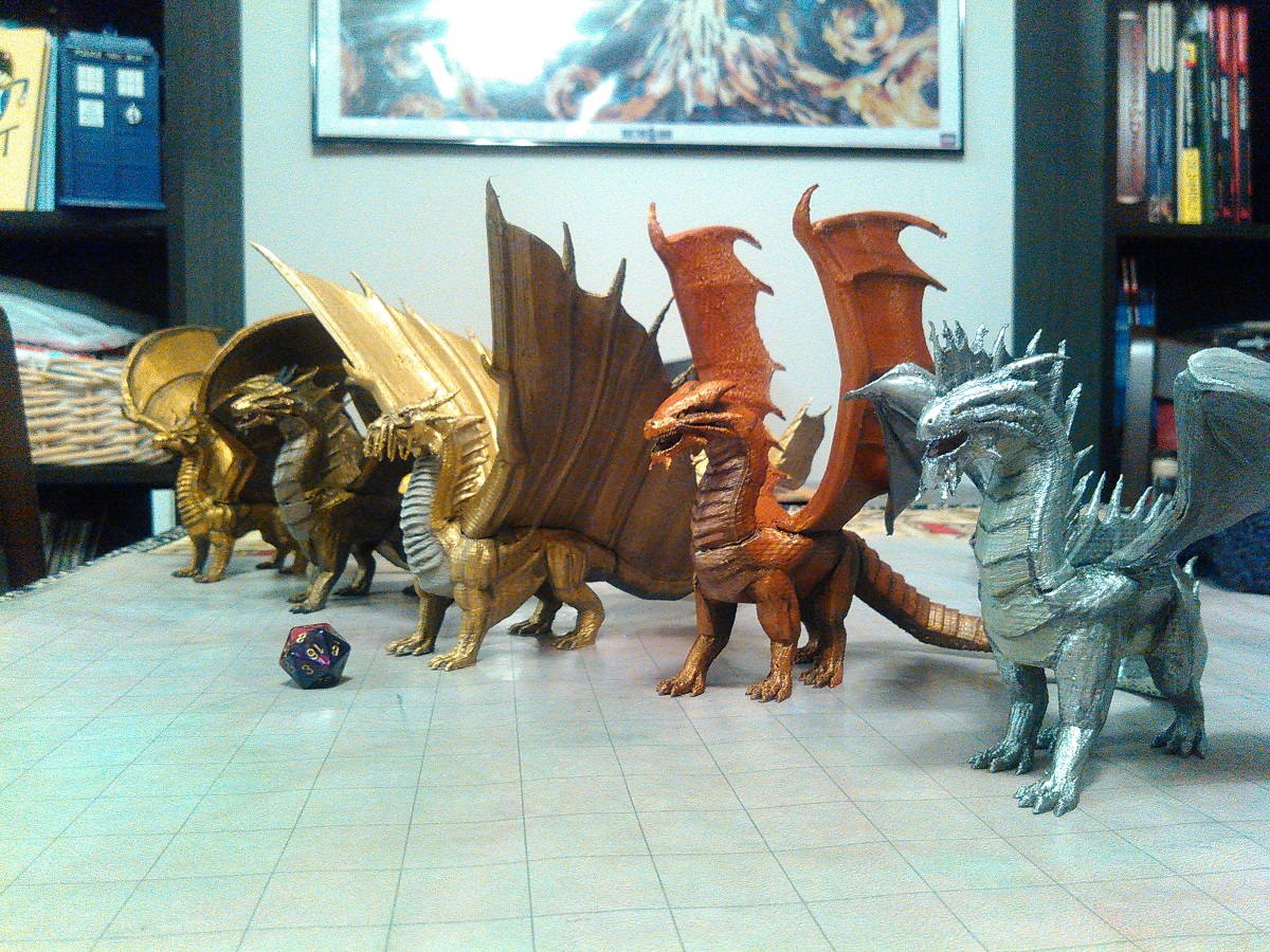 free to download a host of d d monsters and dungeons for 3d printing