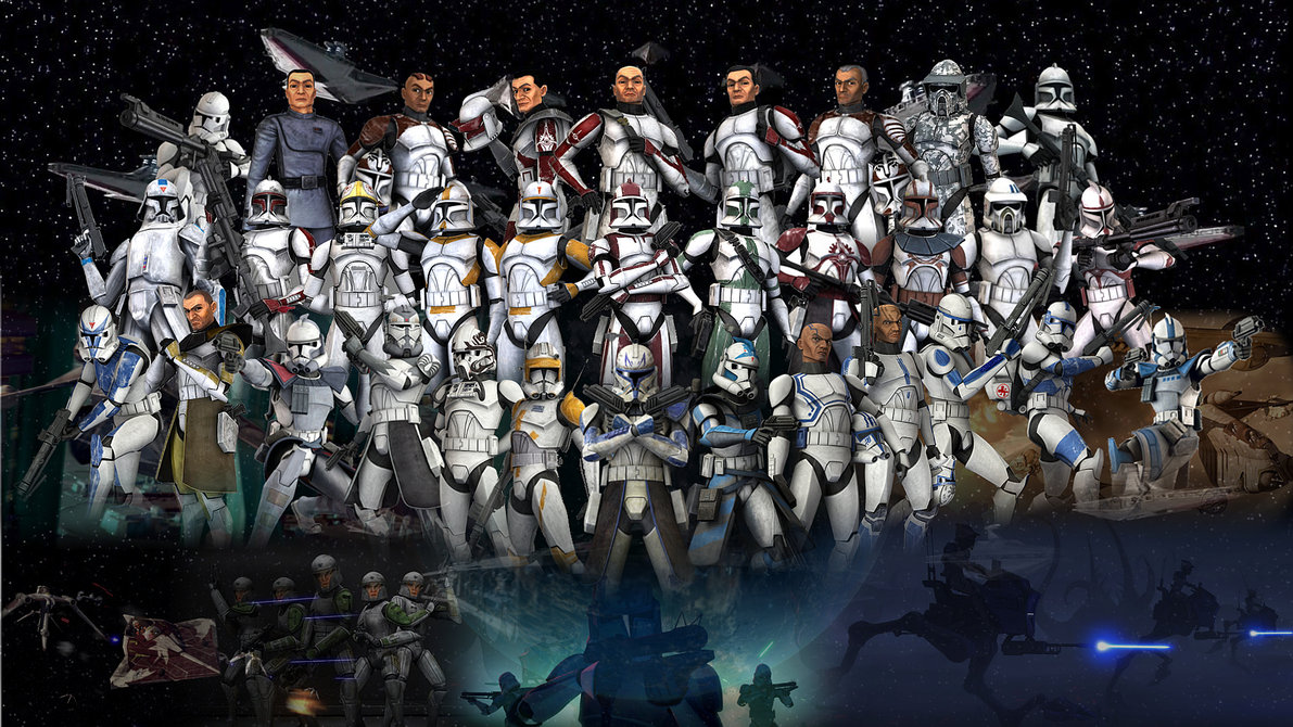 Who Supports The Clone Army