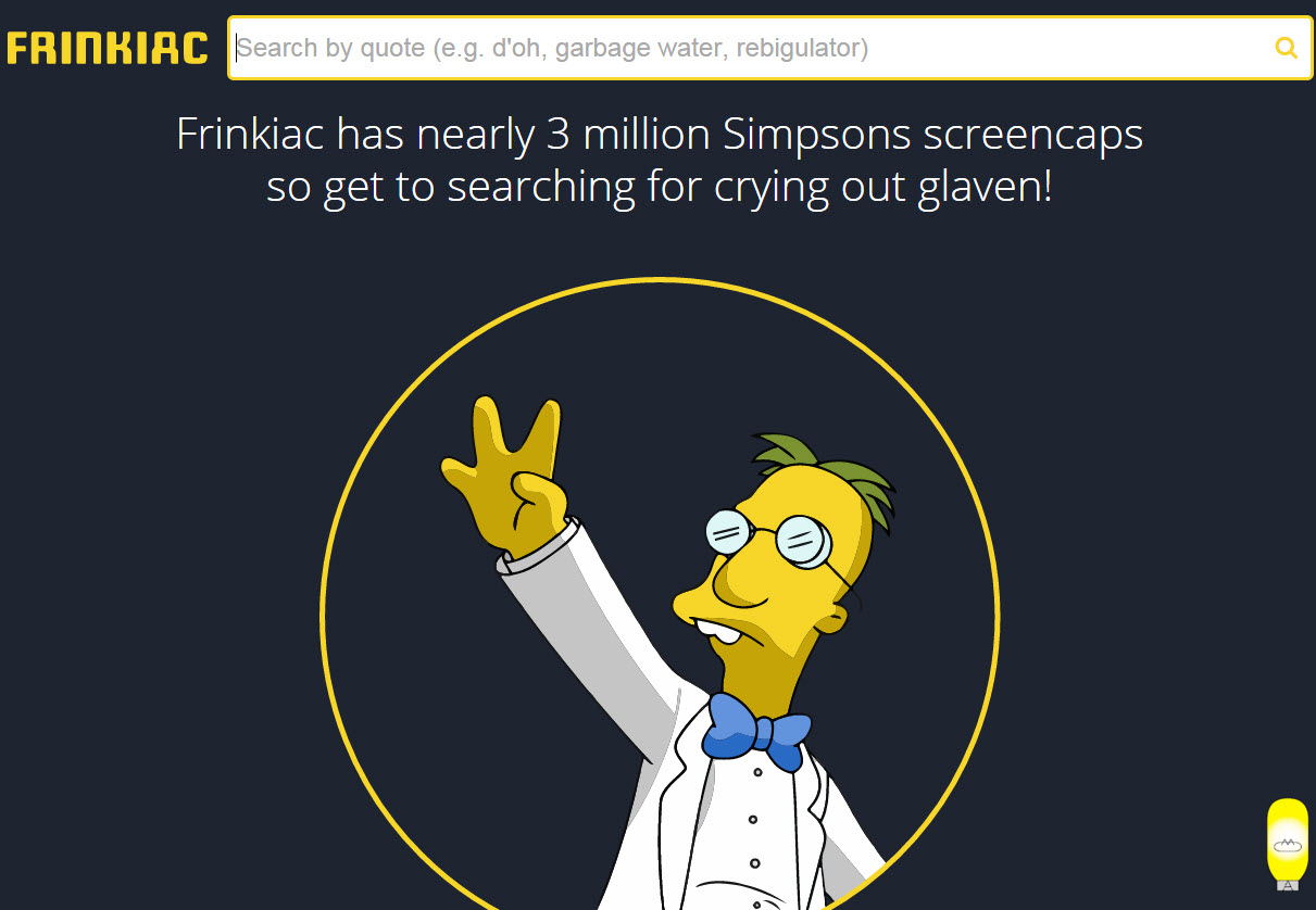 frinkiac generate your simpsons memes with the frinkiac