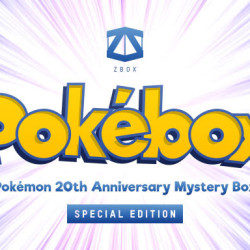 There are only 500 Pokebox 20th Anniversary Collector Editions available