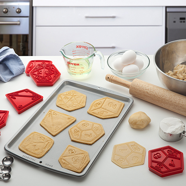 dice cookie cutters