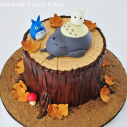My Neighbour Totoro as a tasty cake