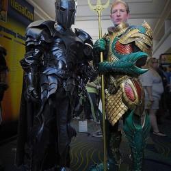 Batman and Aquaman: Medieval armour style