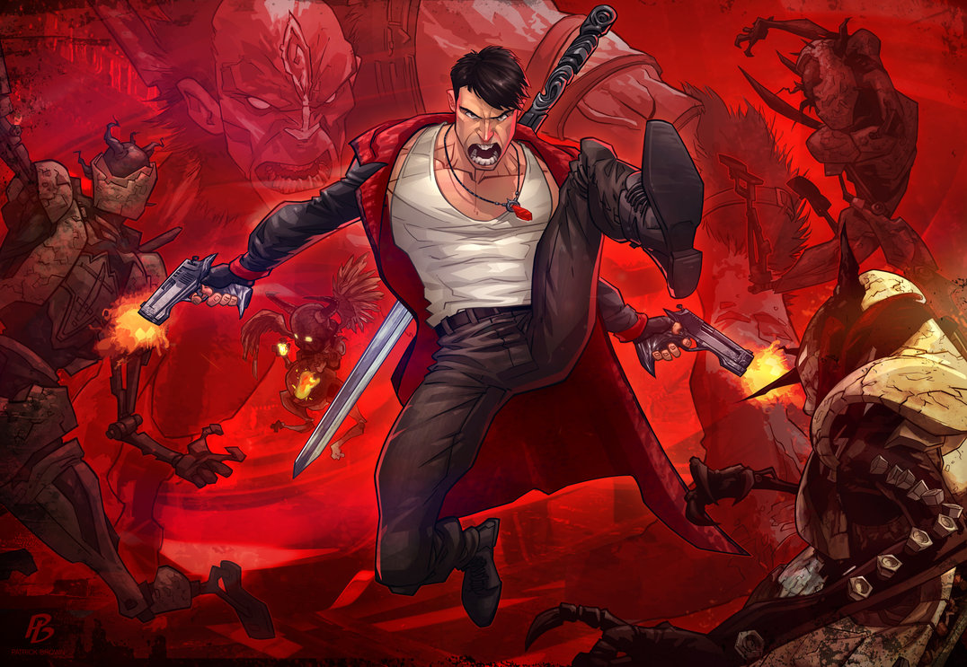 Devil May Cry by Patrick Brown
