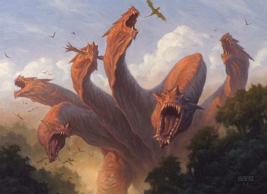 Kalonian Hydra by Chris Rahn