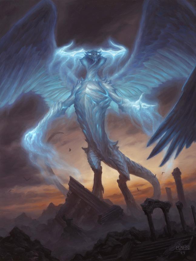 Ugin the Spirit Dragon by Chris Rahn
