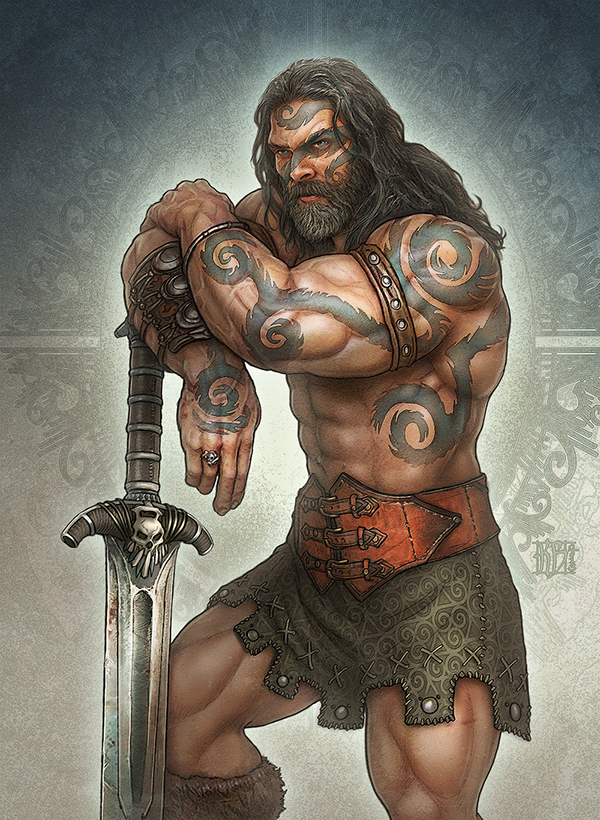 Realms of Mayhem  warrior
