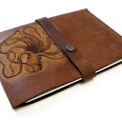 On Etsy: Handmade leather iPad Cthulhu sleeve