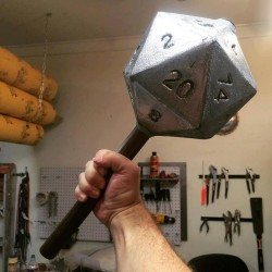 Out of my way! D20 warrior coming through!